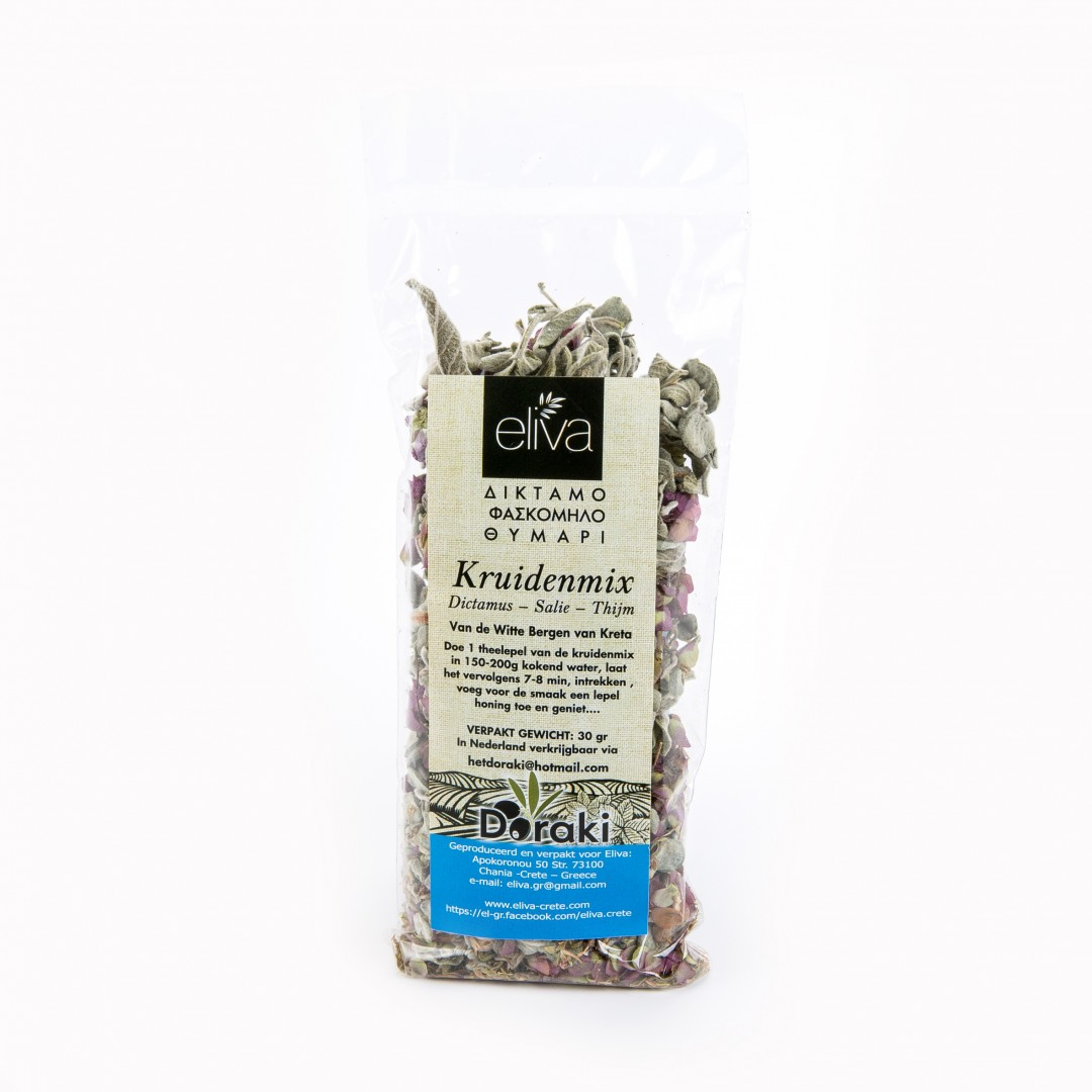biologische handgeplukte thee kruidenmix