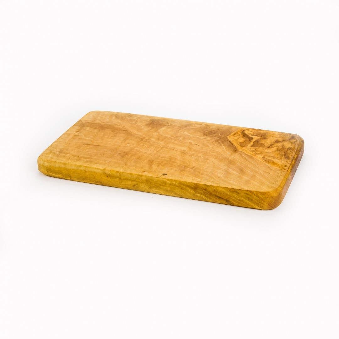 handgemaakt olijfhouten plankje