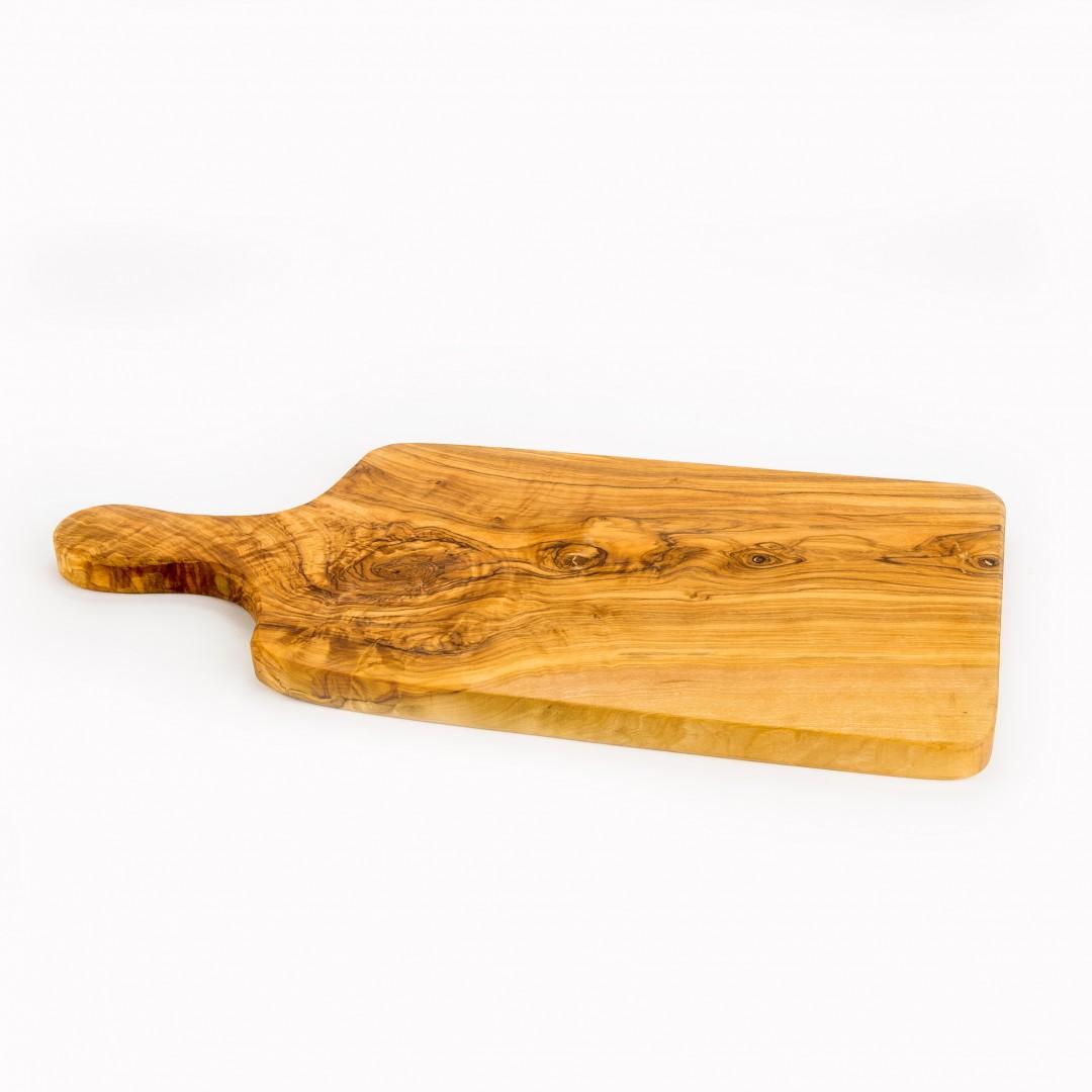 handgemaakte olijfhouten snijplank