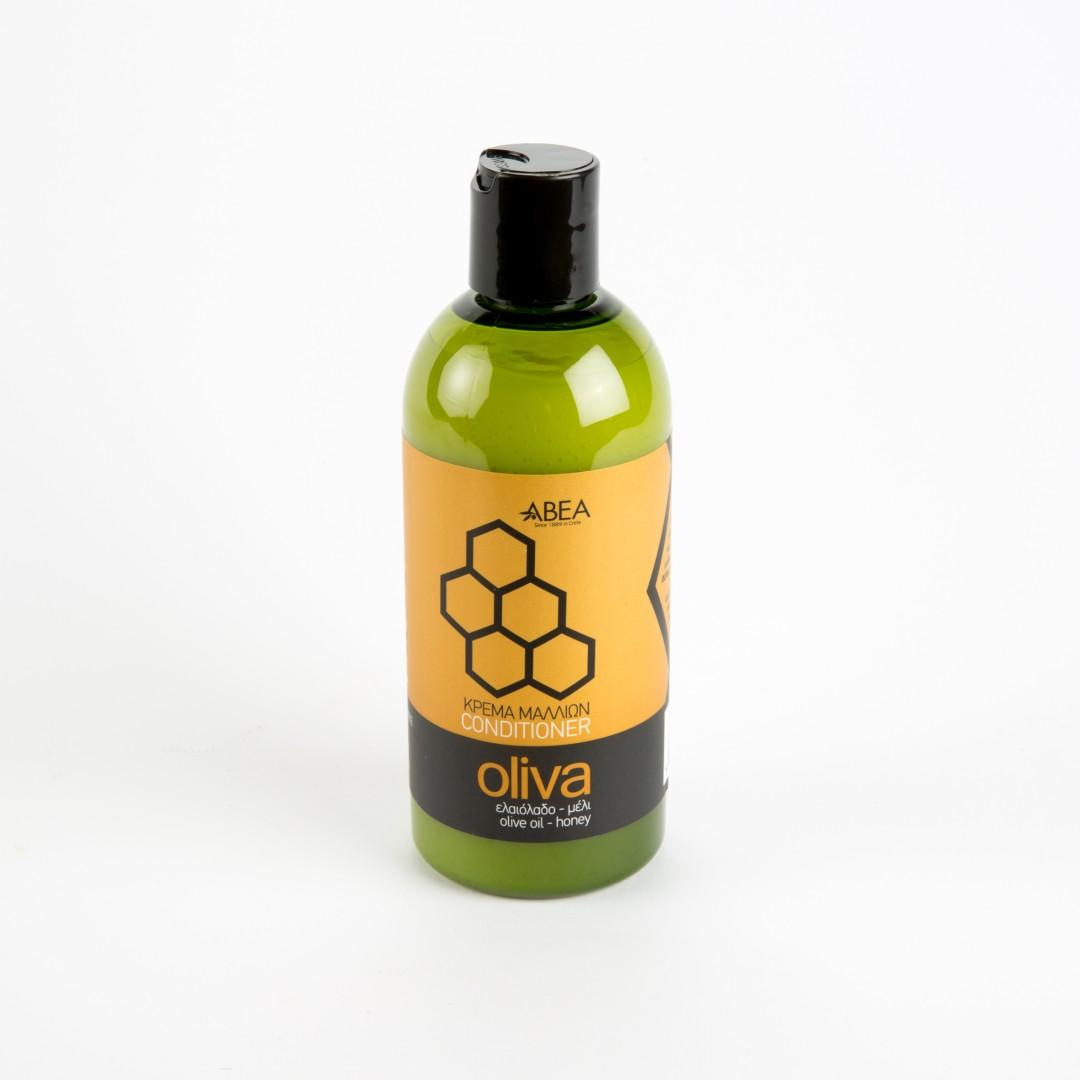 natuurlijke conditioner op basis van olijfolie en honing