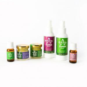 Etherische olie, hydrolaat en bijenwas crème